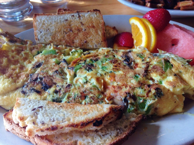 Omelet at Tommy's Cleveland