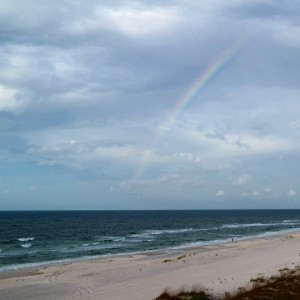 Rainbow over Orange Beach | In Johnna's Kitchen