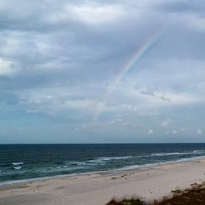 Rainbow over Orange Beach | In Johnna's Kitchen