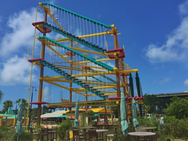 Ropes Course at Lulu's