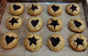 Get Your Hands Off My Pie!  Blackberry Hand Pies (gluten-free, dairy-free, vegan option)