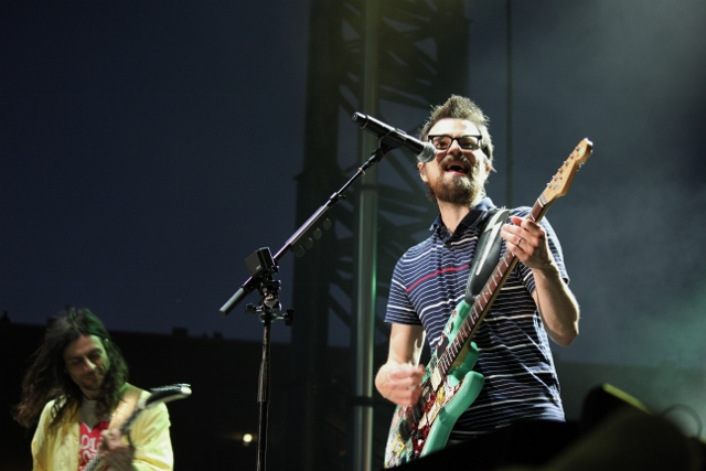 Weezer at 80/35 Music Festival | Photo by Johnna Perry