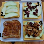 Flavors of Fall Grilled Cheese Assembly