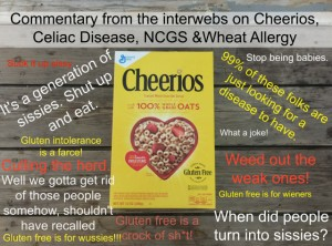 What I've Learned About Celiac Disease and NCGS Thanks to Cheerios