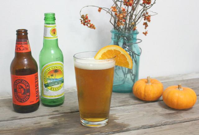 Pumpkin Shandy | In Johnna's Kitchen