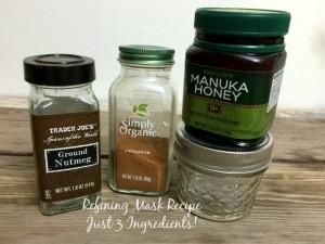 Refining Mask Recipe, Three Ingredients | In Johnna's Kitchen