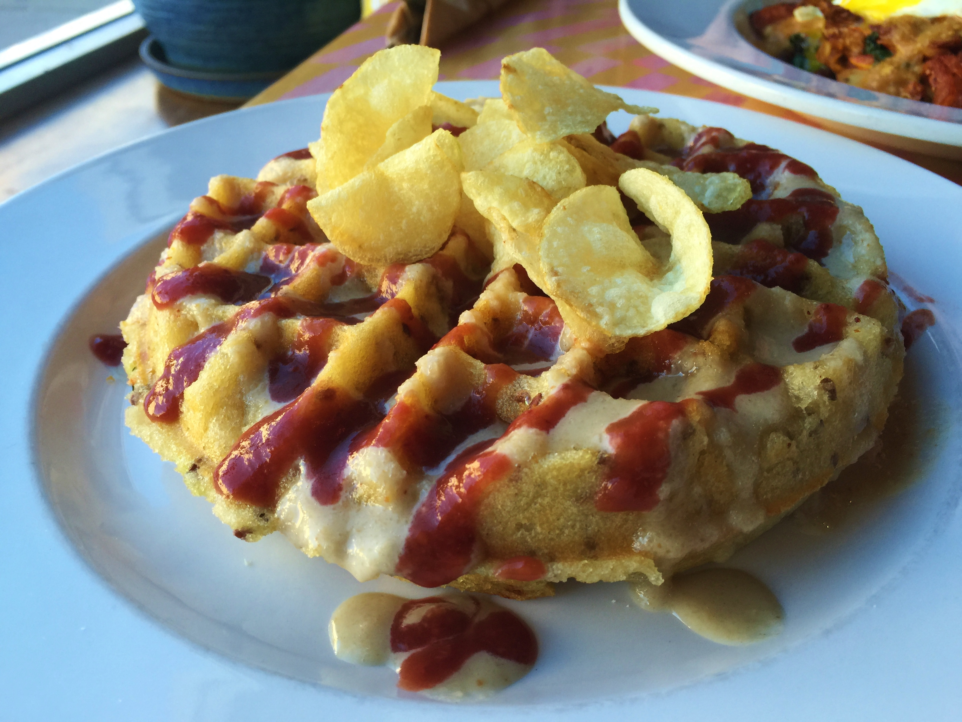 Gluten-Free Waffle, City O' City Denver | In Johnna's Kitchen