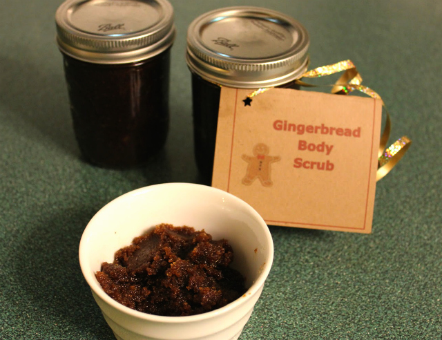 Gingerbread Body Scrub | In Johnna's Kitchen