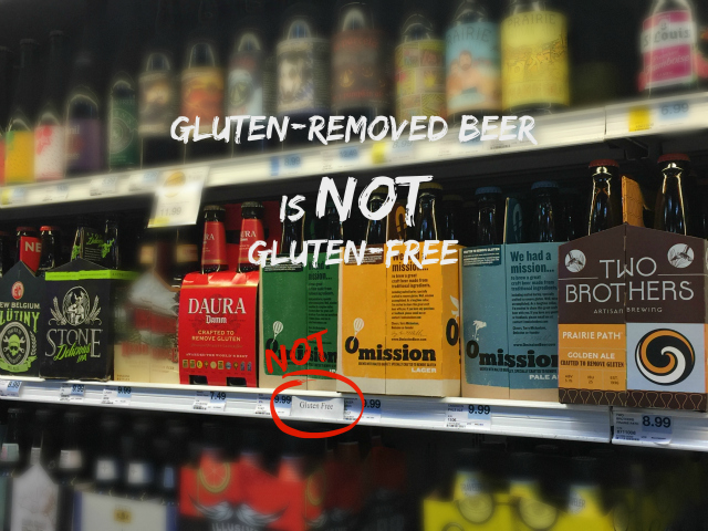 Gluten-Removed beer is not Gluten-Free | In Johnna's Kitchen