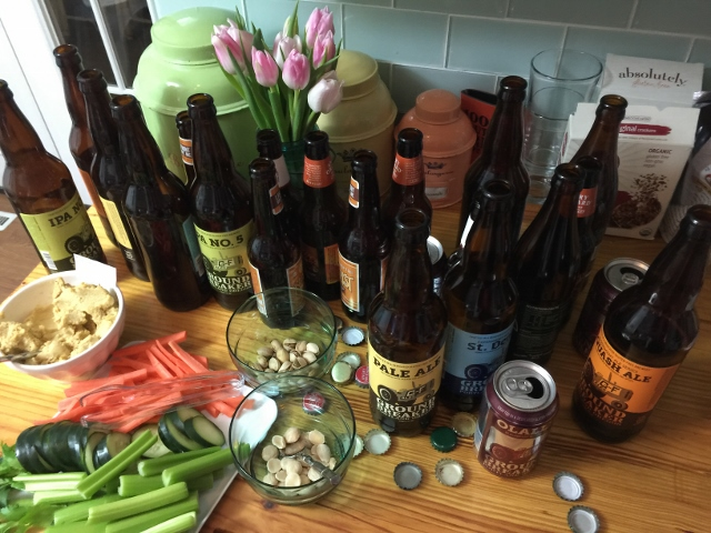 Gluten-Free Beer Tasting | In Johnna's Kitchen
