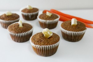 Carrot Ginger Muffins Gluten-Free | In Johnna's Kitchen