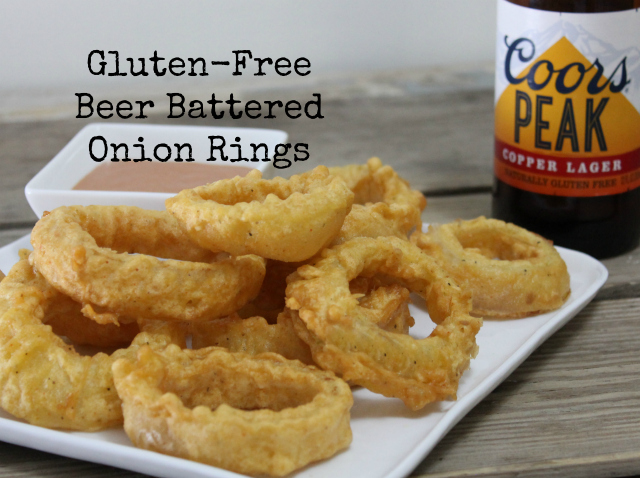 Gluten-Free Beer Battered Onion Rings | In Johnna's Kitchen