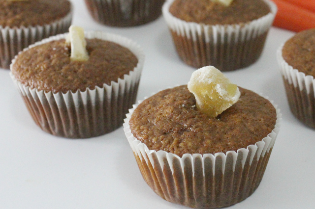 Carrot Ginger Muffins Gluten-Free |In Johnna's Kitchen