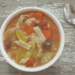 Vegetable Noodle Soup | In Johnna's Kitchen