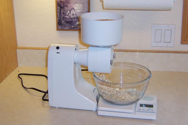 Forrest's countertop oat mill