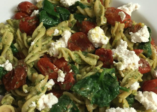Green Pasta (gluten-free, grain-free, dairy-free, vegan) | In Johnna's Kitchen