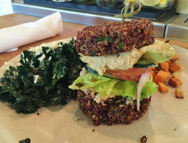 True Food Kitchen Burger i ate here: true food kitchen, denver, colorado - in johnna's kitchen