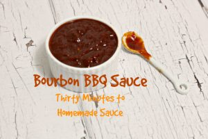 Bourbon BBQ Sauce, Perfect for Summer Grilling!