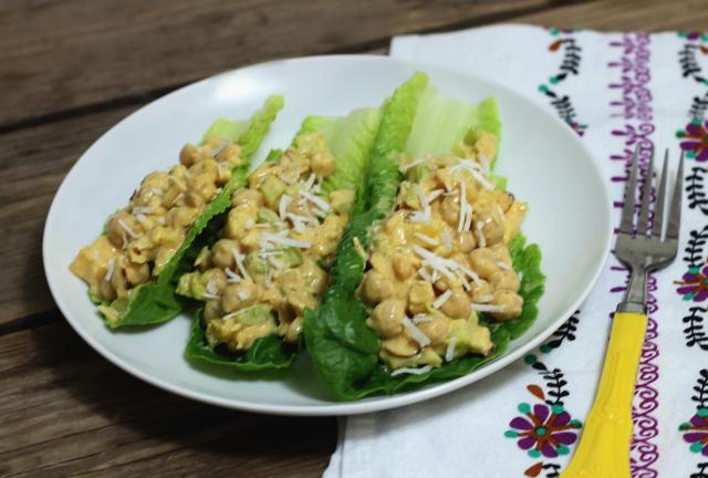 Curry Chickpea Salad (gluten-free, dairy-free, vegan, grain-free)   In Johnna's Kitchen