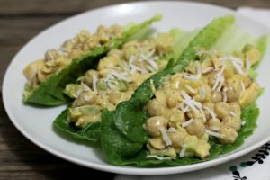 Curry Chickpea Salad (gluten-free, dairy-free, vegan, grain-free) | In Johnna's Kitchen