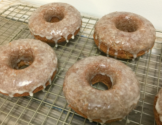 Gluten-Free Apple Cider Donuts | In Johnna's Kitchen