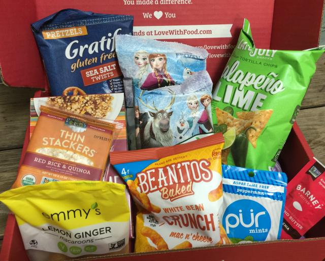 Love With Food Gluten-Free Box | In Johnna's Kitchen