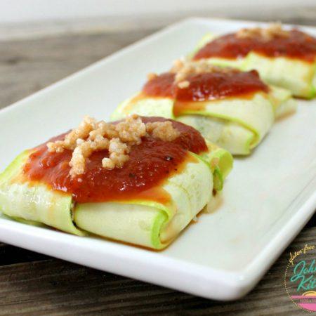 Zucchini Ravioli | In Johnna's Kitchen