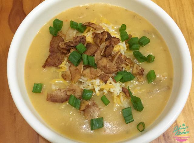 Potato Vegetable Chowder in the Instant Pot (gluten-free, dairy-free, veg) | In Johnna's Kitchen