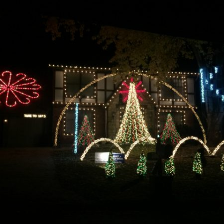 Kansas City Christmas Lights Drive | In Johnna's Kitchen