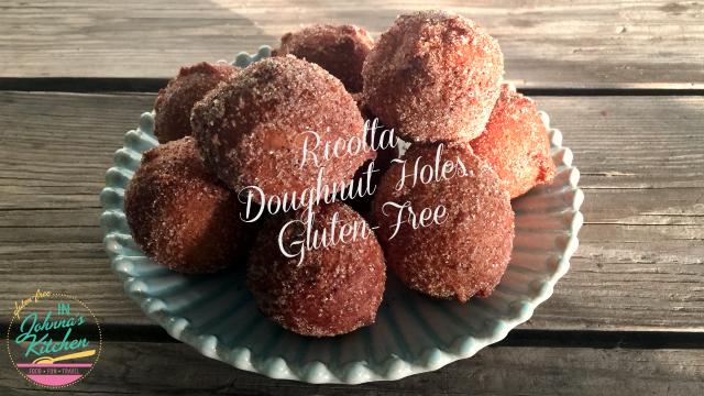Ricotta Donut Holes, Gluten-Free, Ricotta Doughnut Holes, Gluten-Free | In Johnna's Kitchen