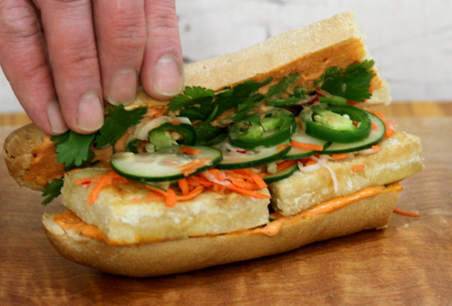 Gluten-Free Banh Mi with Tofu recipe | In Johnna's Kitchen