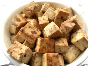 Baked Peanut Tofu (gluten-free, vegan) | In Johnna's Kitchen