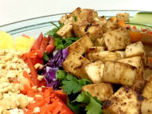 Baked Peanut Tofu (gluten-free, vegan) | In Johnna's Kitchen