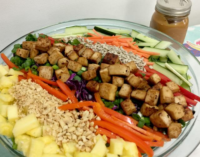 Crunchy Thai Salad   In Johnna's Kitchen