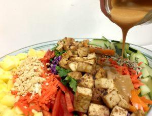 Easy Thai Peanut Dressing (gluten-free, dairy-free, vegan) | In Johnna's Kitchen