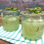 Jalapeno Mezcal Margarita | In Johnna's Kitchen