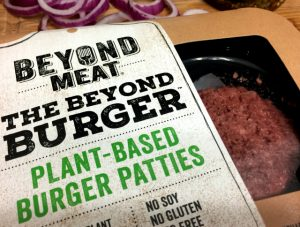 gluten-free, soy-free, vegan plant-based burger from Beyond Meat | In Johnna's Kitchen