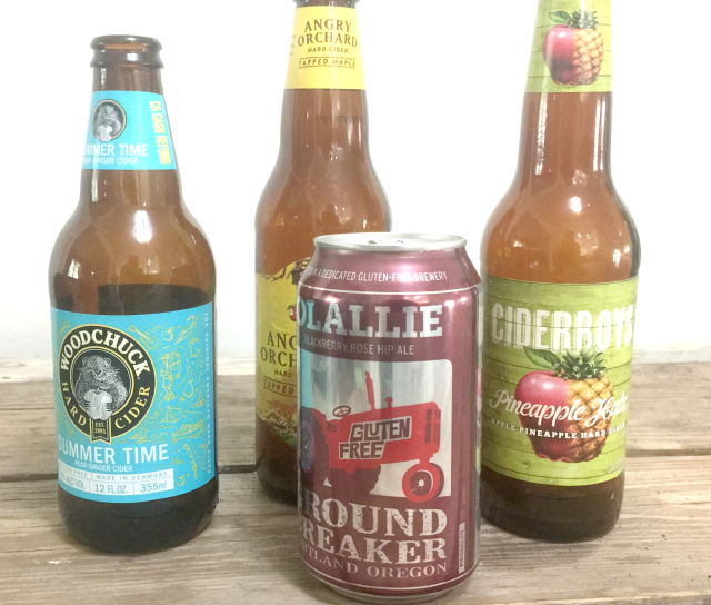 gluten-free beer and hard cider | In Johnna's Kitchen