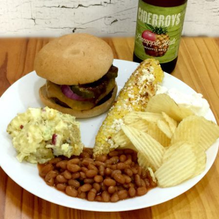 vegetarian gluten-free summer BBQ | In Johnna's Kitchen