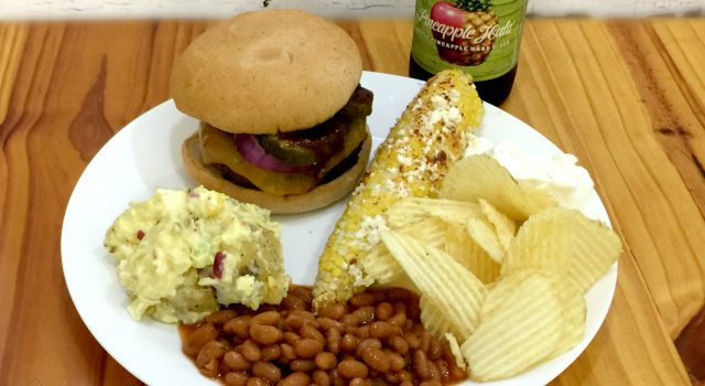 What's a gluten-free, vegetarian backyard BBQ look like?