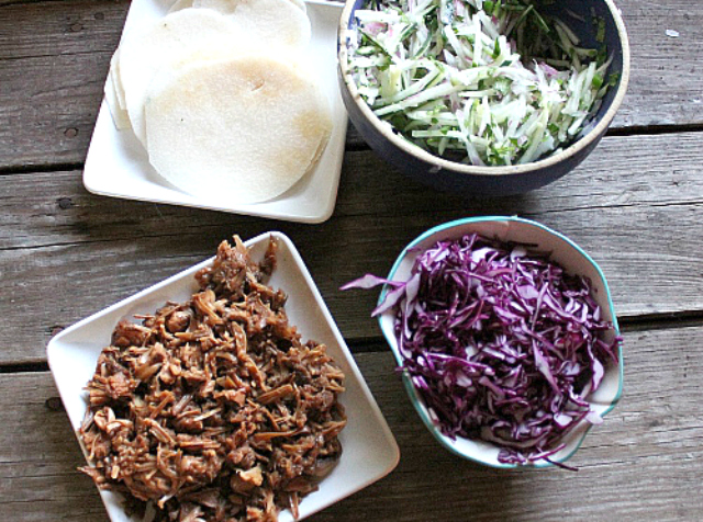 Jackfruit Korean BBQ Tacos   In Johnna's Kitchen