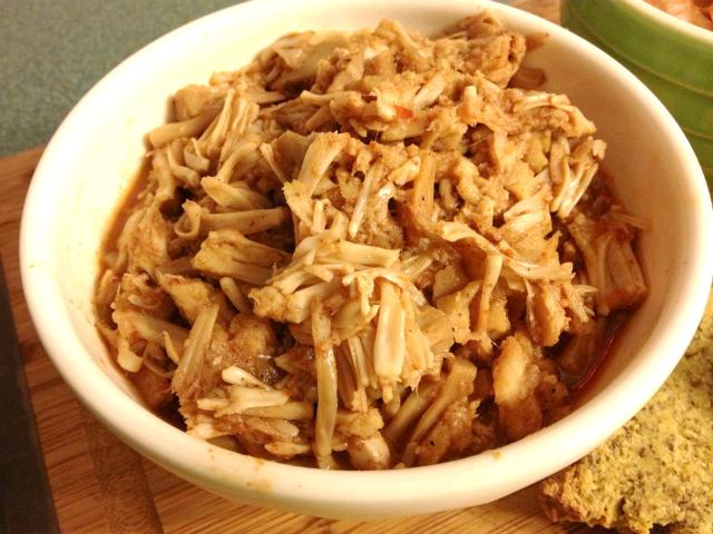 Jackfruit Carolina BBQ   In Johnna's Kitchen