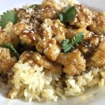 Sticky Sesame Cauliflower in the Instant Pot | In Johnna's Kitchen