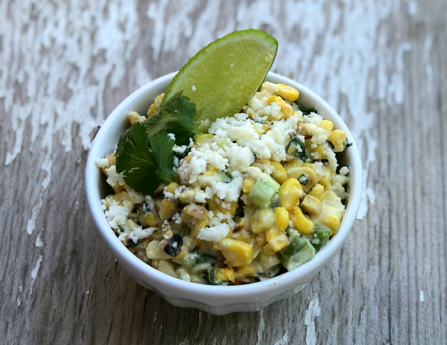 Mexican Street Corn Salad, Esquites or Elotes | In Johnna's Kitchen