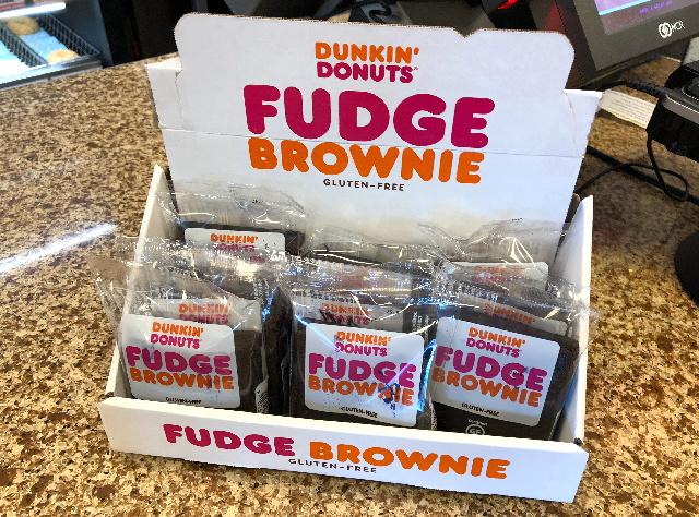 Dunkin Donuts Gluten-Free Brownie