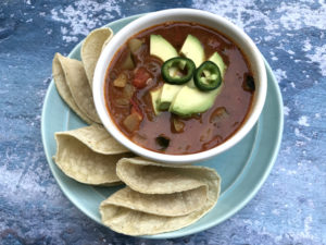 Summer Vegetable Pozole (gluten-free, dairy-free, vegan) | In Johnna's Kitchen