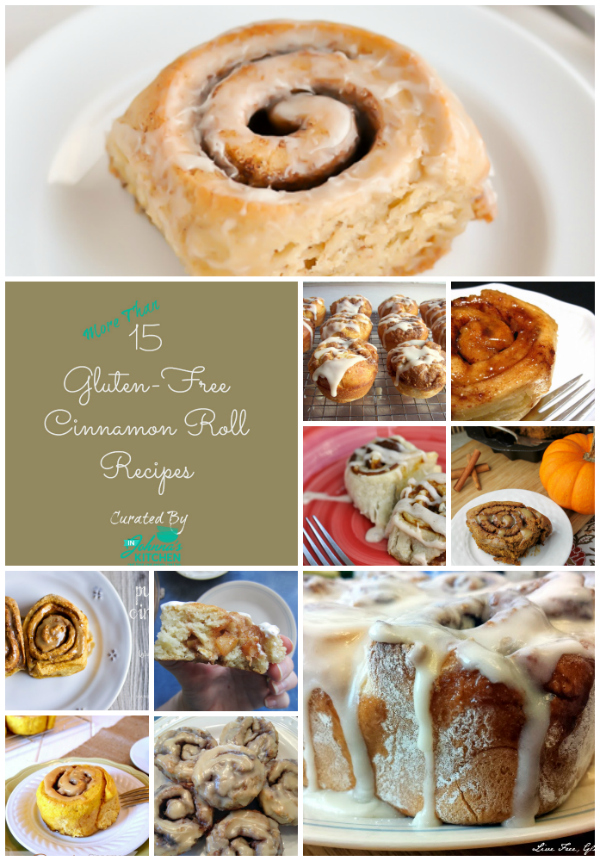 Gluten-Free Cinnamon Roll Recipe Roundup | In Johnna's Kitchen