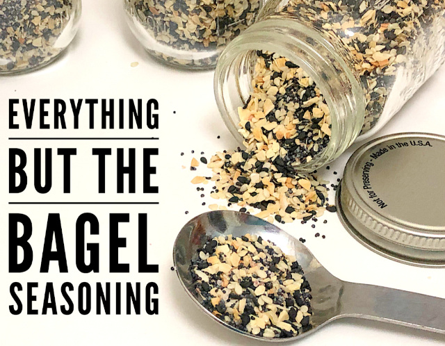 Everything But The Bagel Seasoning Recipe | In Johnna's Kitchen