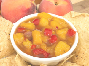 Peach Salsa for Freezing or Canning | In Johnna's Kitchen