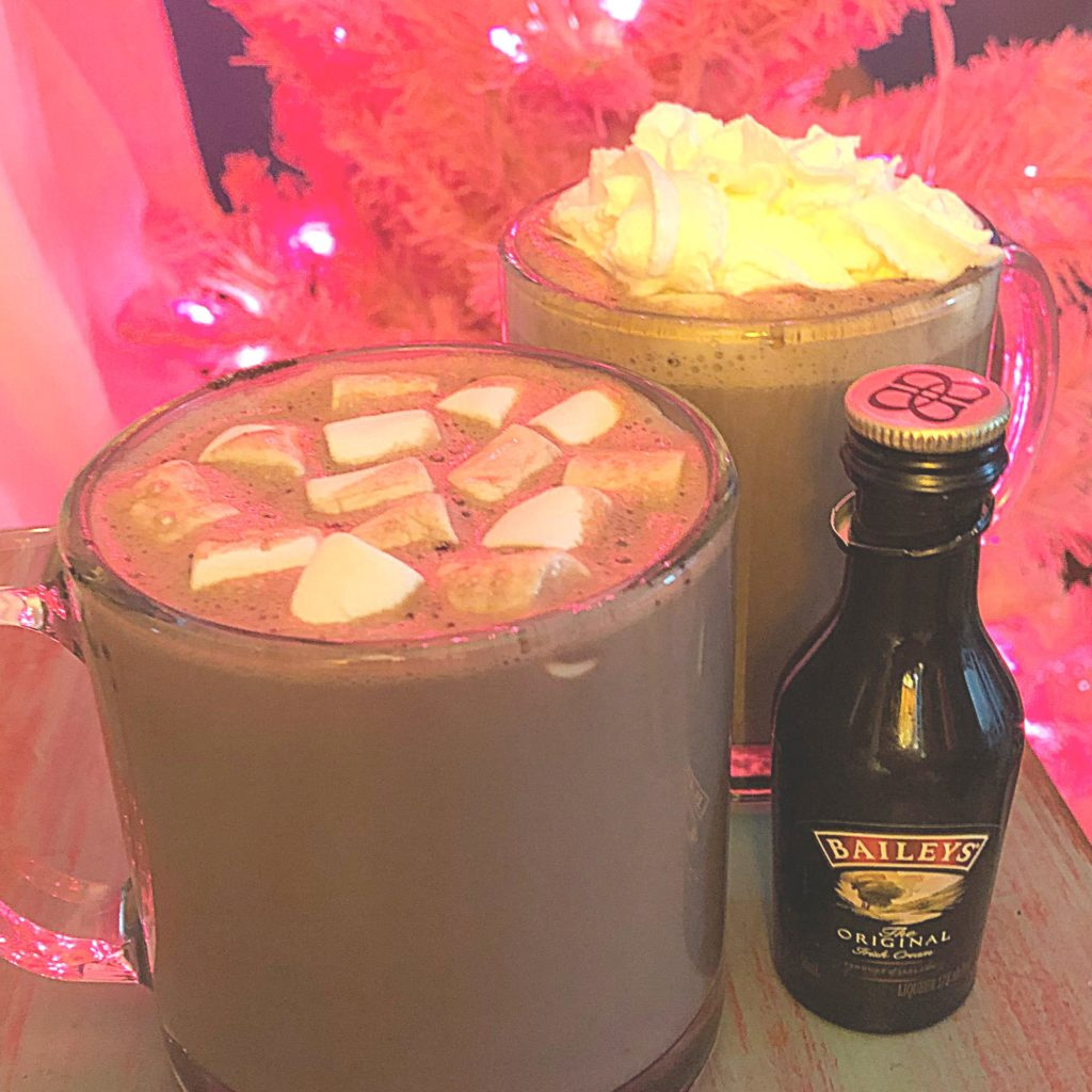 Boozy Advent Baileys Hot Cocoa | In Johnna's Kitchen